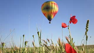 Hot Air Balloon Tour from Barcelona
