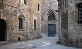 Barri Gotic in Barcelona