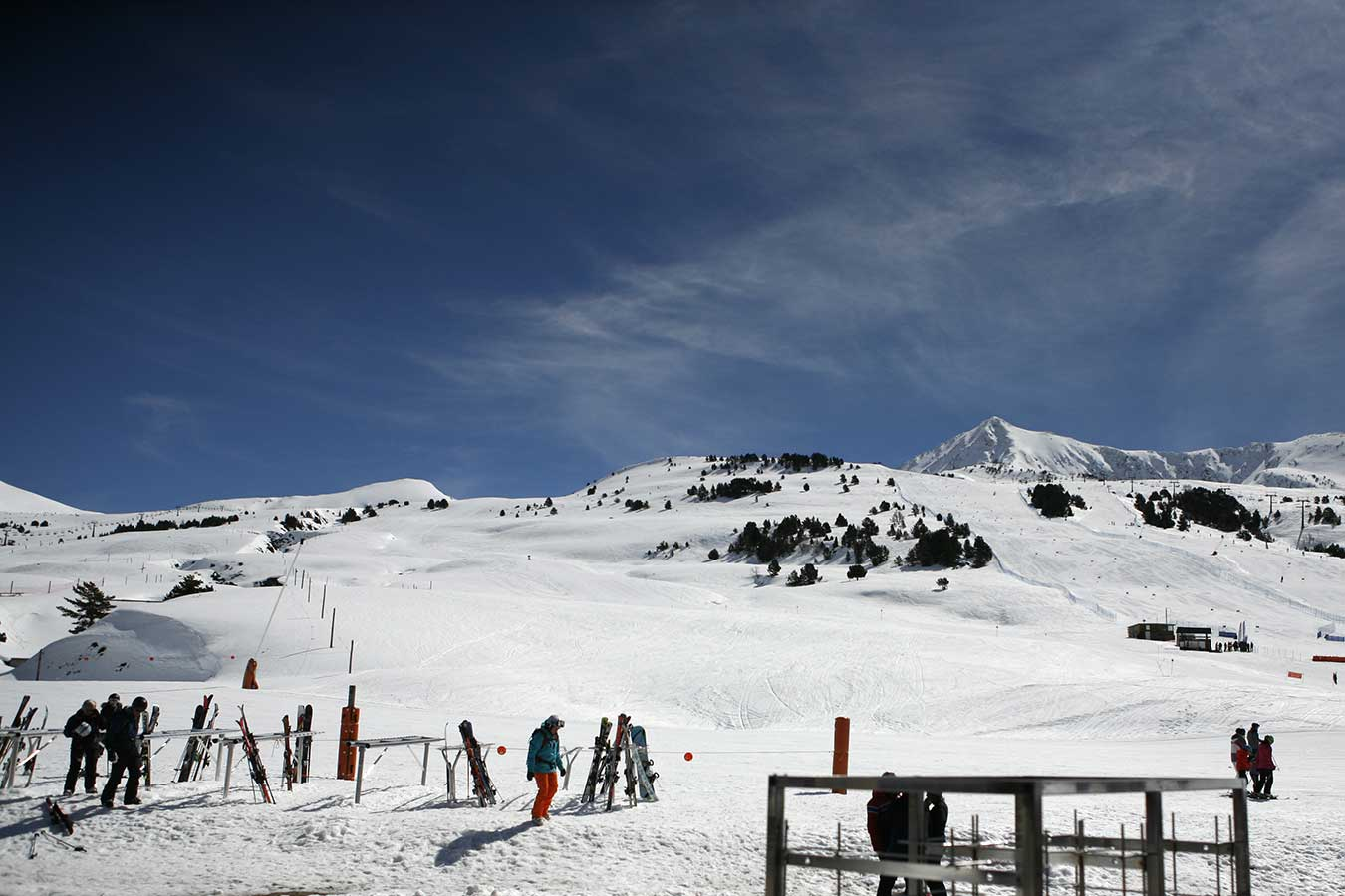 Skiing close to Barcelona, Baqueira-Beret