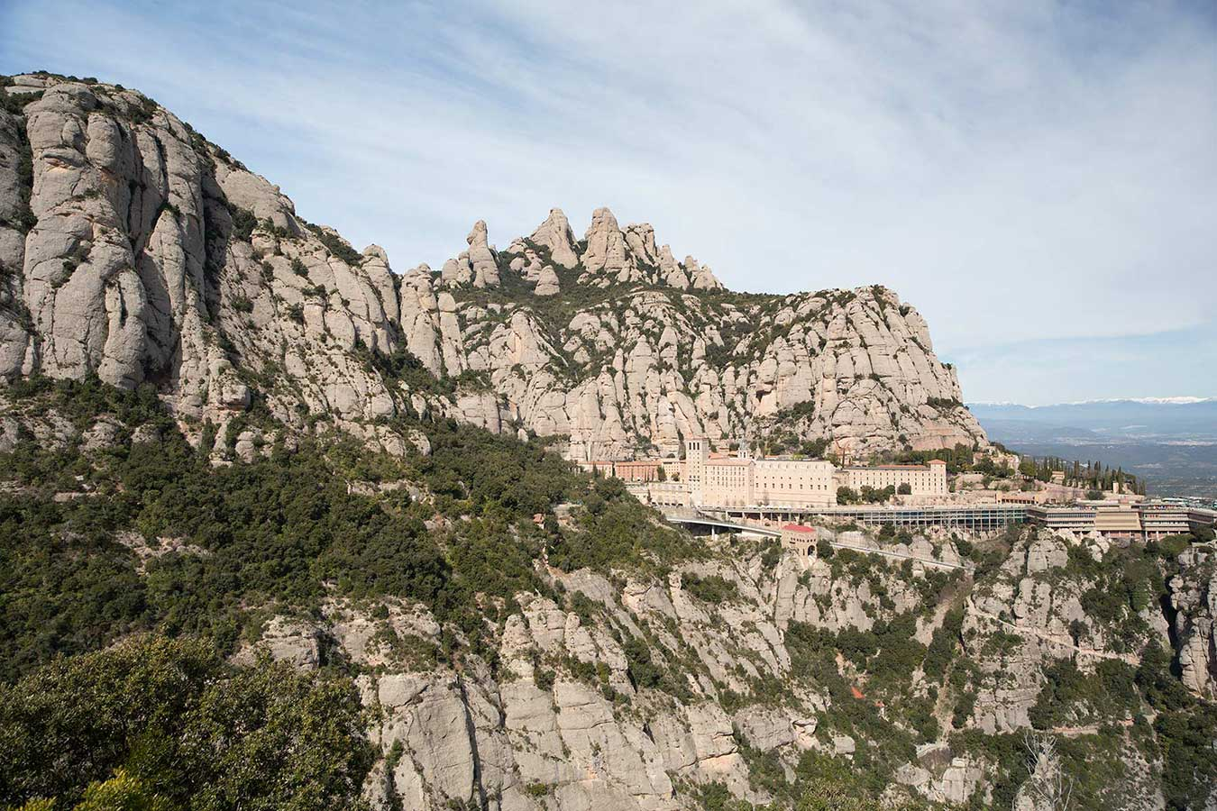 Montserrat, south-west of Barcelona