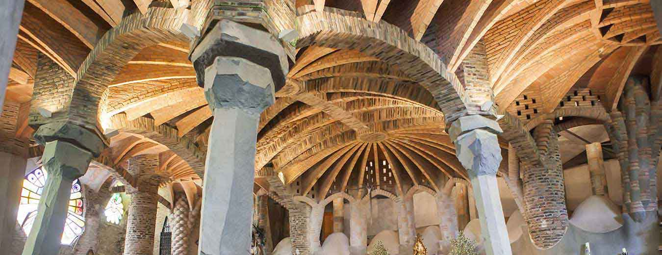things to do outside Barcelona, The Colonia Güell Crypt, Spain