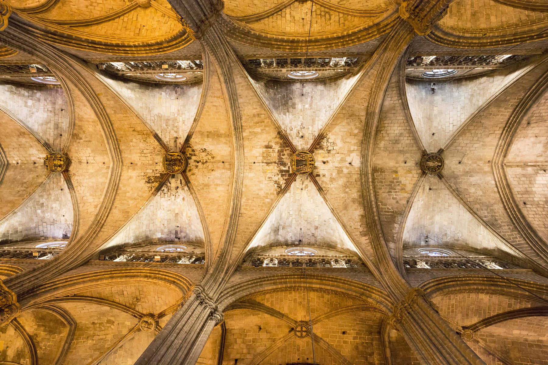 Gothic Quarter Cathedral roof