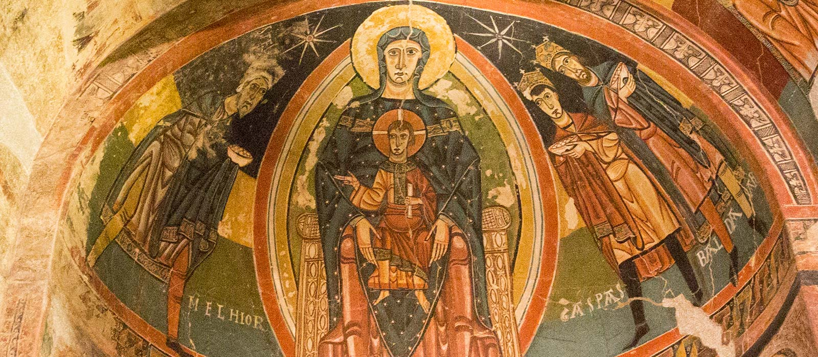romanesque church art