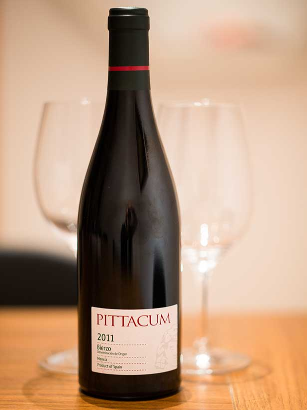 The wine region of Bierzo - here Bodegas Pittacum